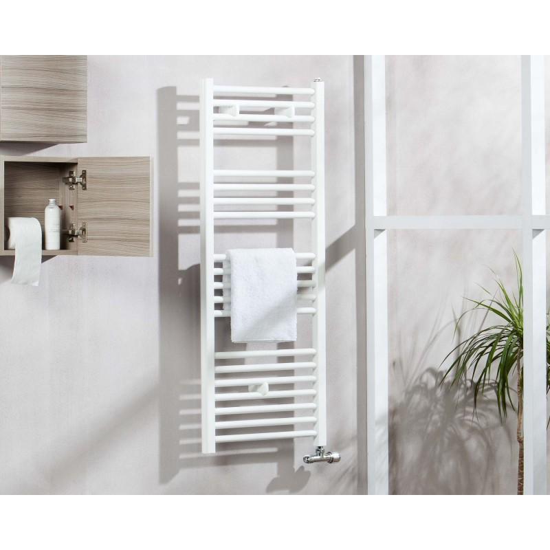 Radiador toallero tojar en blanco for Radiadores toallero